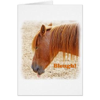 Bleugh!.jpg Greeting Card