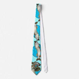 Bleus musqués cravates