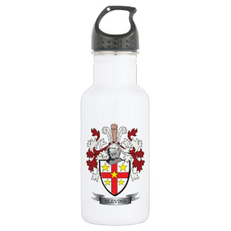 Blevins Family Crest Coat of Arms 532 Ml Water Bottle