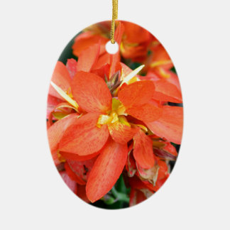 Blind Attraction Ceramic Oval Ornament