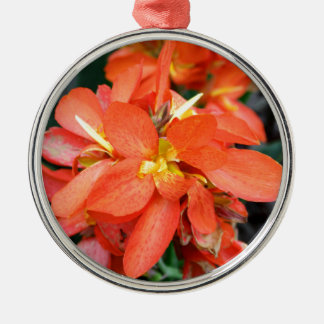 Blind Attraction Silver-Colored Round Ornament