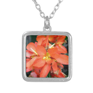 Blind Attraction Silver Plated Necklace