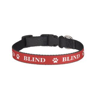 """""""BLIND"""" Awareness Pet Collar"""