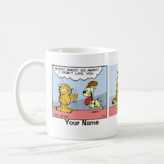"""Blind Devotion"" Garfield Comic Strip Coffee Mug"