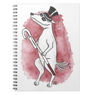 Blind Dog Spiral Notebook