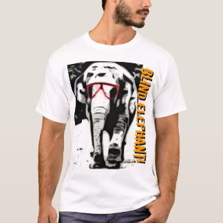 Blind Elephant T Shirt