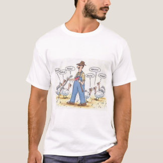 Blind Farmer Looking For A Turkey T-Shirt