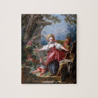 Blind-Mans Bluff by Jean-Honore Fragonard Puzzles