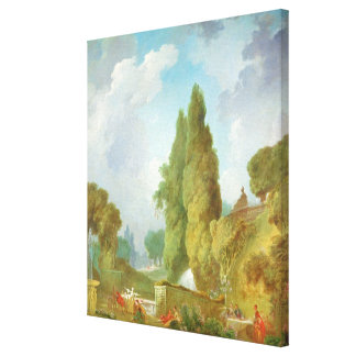 Blind Man's Buff Canvas Print