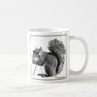 Blind Squirrel Finds a Nut Mug