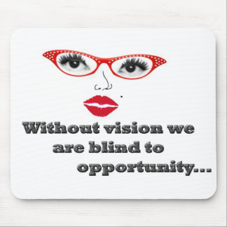 blind to opportunity mouse pad