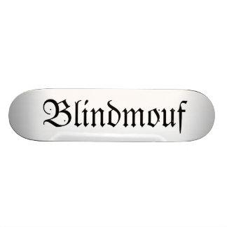 Blindmouf goth skateboard decks