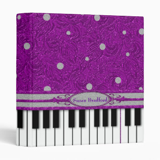 BLING BLING PIANO BINDER
