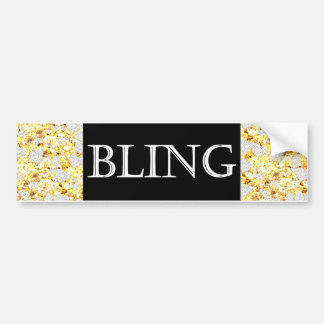 BLING BUMPER STICKER