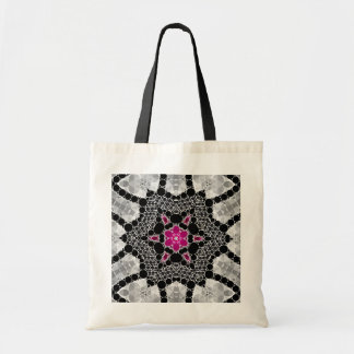 Bling Flower Abstract Budget Tote Bag