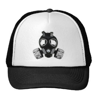 Bling Gas Mask Trucker Hat