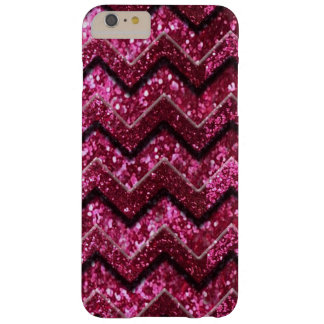 Bling Glam Girly Glitter Sparkle Chevron Barely There iPhone 6 Plus Case