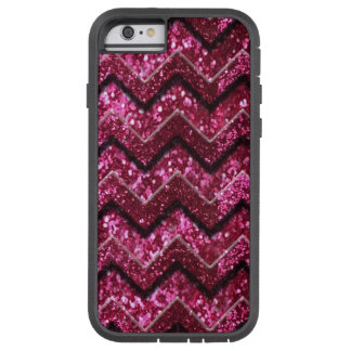 Bling Glam Girly Glitter Sparkle Chevron Tough Xtreme iPhone 6 Case