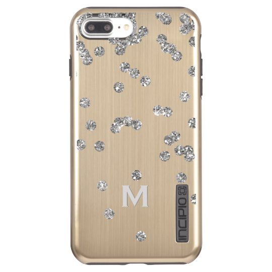 Bling Gold iPhone 7+ DualPro Shine Case