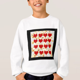 BLING HEARTS SWEATSHIRT