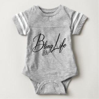 Bling Life Baby Football Bodysuit