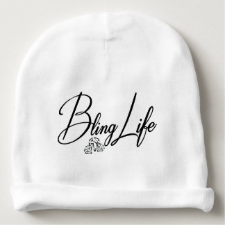 Bling Life Custom Baby Cotton Beanie Baby Beanie