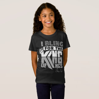 Bling Life Girls' King of Kings Fine Jersey Shirt