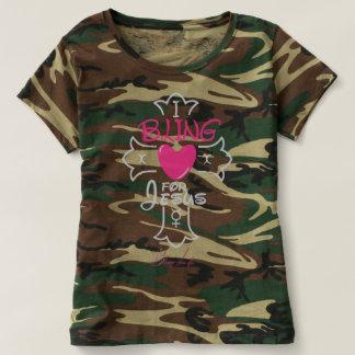 Bling Life I Bling for Jesus Camouflage T-Shirt