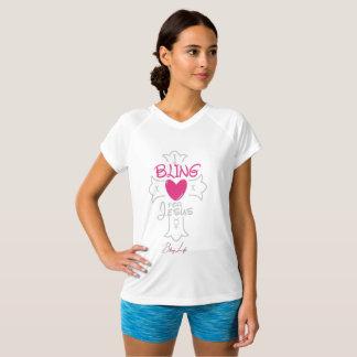 Bling Life I Bling for Jesus Double-Dry  T-Shirt