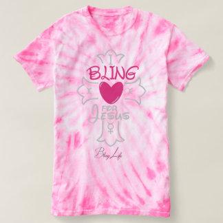 Bling Life I Bling for Jesus Tie-Dye T-Shirt
