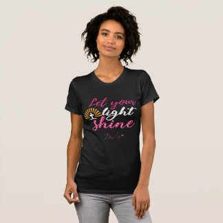 Bling Life Let Your Light Shine Fine Jersey Shirt