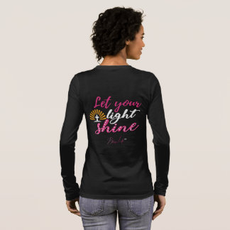 Bling Life Let Your Light Shine Long Sleeve Shirt