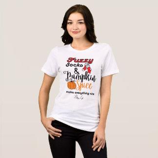 Bling Life Pumpkin Spice Relaxed Fit Shirt