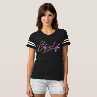 Bling Life Women's Football T-Shirt