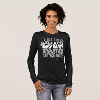 Bling Life Women's King Of Kings Long Sleeve Shirt