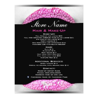 Bling Make-Up Artist Beauty Salon List Of Services
