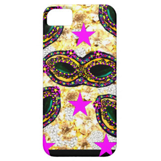 BLING MARDI GRAS iPhone 5 COVER