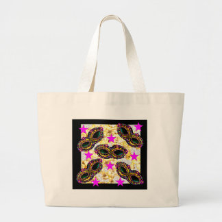 BLING MARDI GRAS LARGE TOTE BAG
