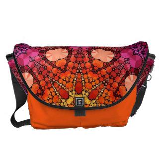 Bling Pattern Messenger Bag