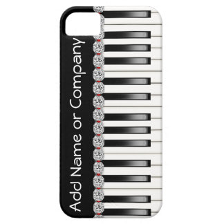 BLING PIANO I Phone 5 Case with  Personalized iPhone 5 Case