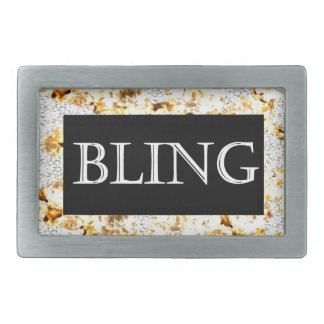 BLING RECTANGULAR BELT BUCKLES