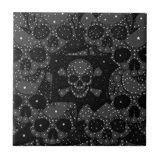 Bling Skull and crossbones Tiles