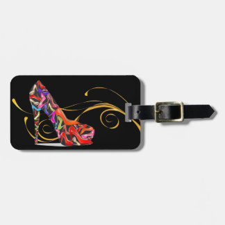 Bling Stiletto High Heel Luggage / Bag Tags