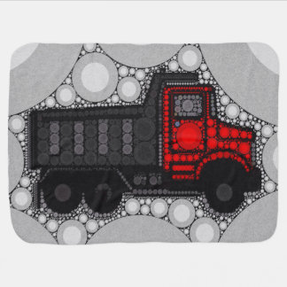 Bling Truck Baby Boy Blanket
