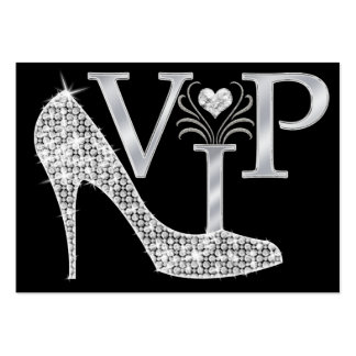 Bling VIP Card - SRF Pack Of Chubby Business Cards