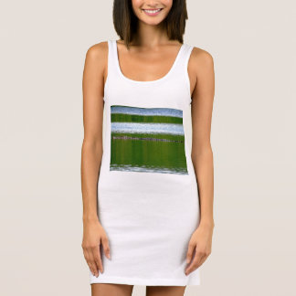 Blink and you'll miss me Ladies Singlet Tank Dress