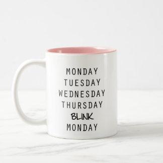 Blink Coffee Mug, typography Coffee Mug