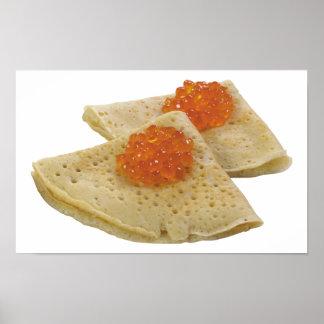 Bliny et caviar posters