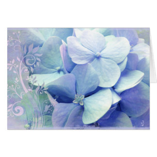 Bliss greeting card Lavender-Blue Hydra