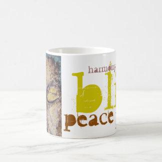 Bliss Peace Love Buddha Art Coffee M ug Coffee Mug